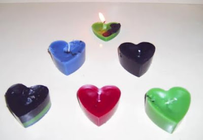 Como reciclar velas