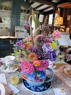 Tea House Centerpiece
