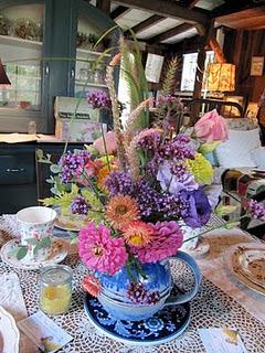 Tea House Centerpiece