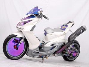 foto gambar modifikasi Yamaha Xeon