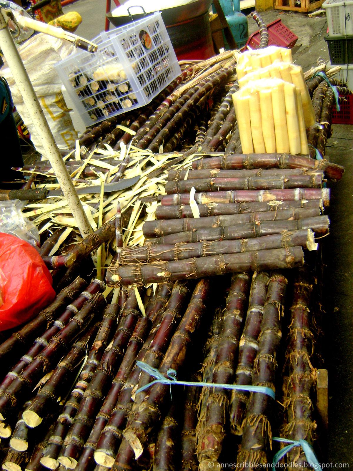 Binondo Manila Chinatown: Sugar Cane