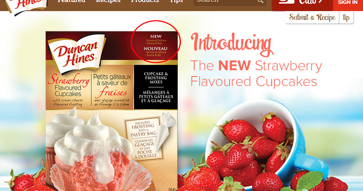 Duncan Hines Strawberry Cake Mix Review