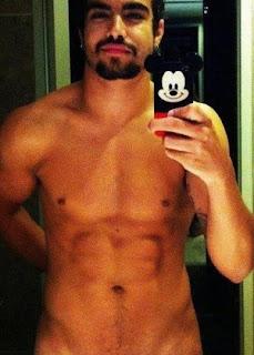 Gal Caio Castro Fez A Alegria Das F S Uma Foto De Nudez Em