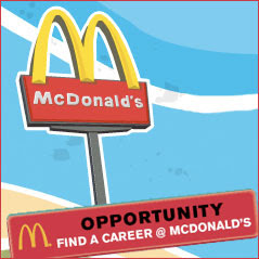 mcdonalds careers portal