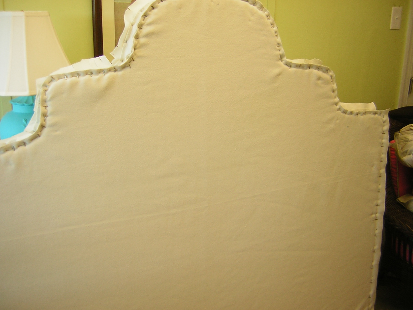 easily camera on i that chic slipcovered headboard dump and slipped in wilmington prewashed with slipcover nc made the was off a be then so purchased march zipper from artee it could fabric