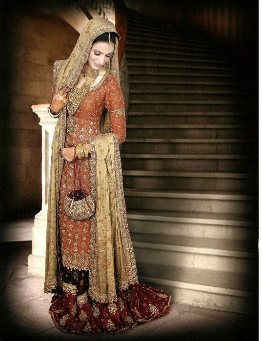 Bunto kazmi Bridal Dress Collection 2014