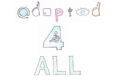 Adapted 4 All logo.