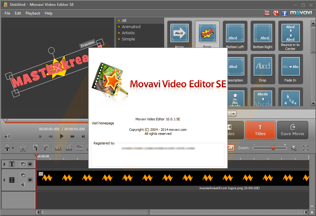 how to use video editor master