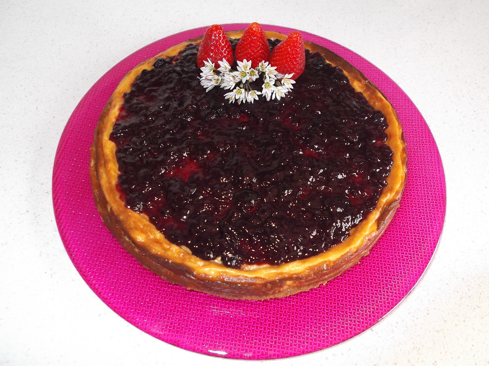 Platos y dulces new york cheese cake for Platos dulces