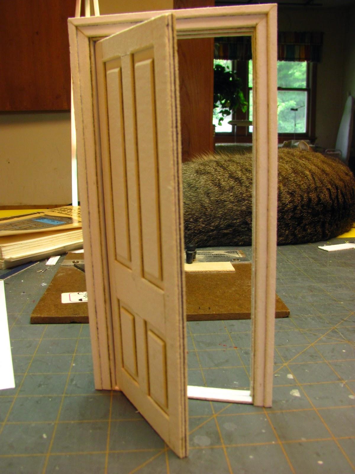 Dollhouse miniature furniture tutorials 1 inch minis - 1 4 scale furniture for interior design ...