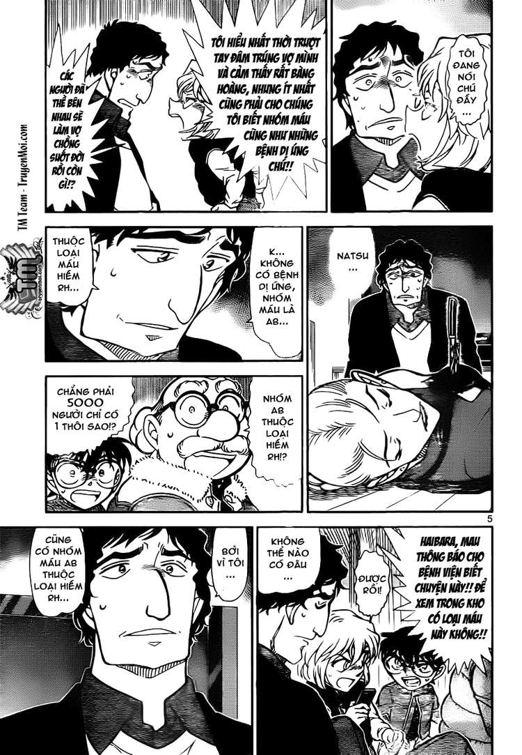 Detective Conan - Thám Tử Lừng Danh Conan chap 802 page 5 - IZTruyenTranh.com