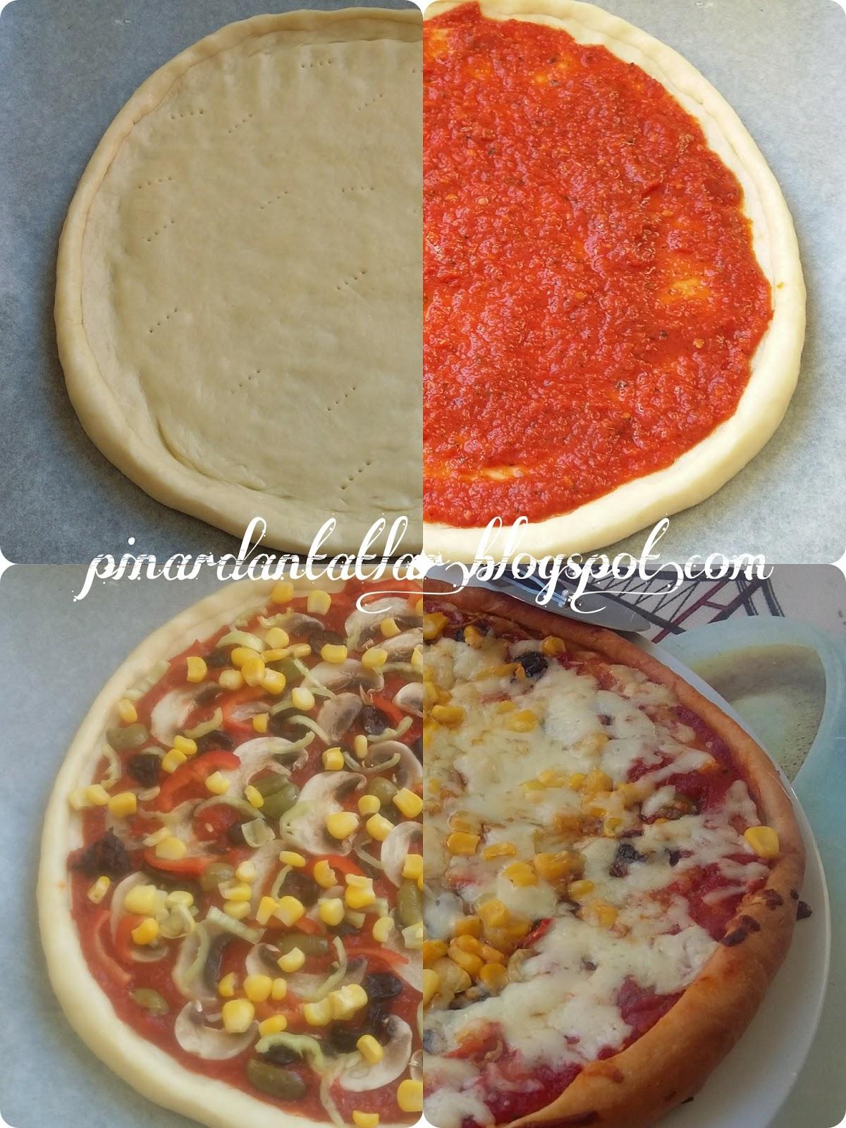 Klasik Pizza Yapımı