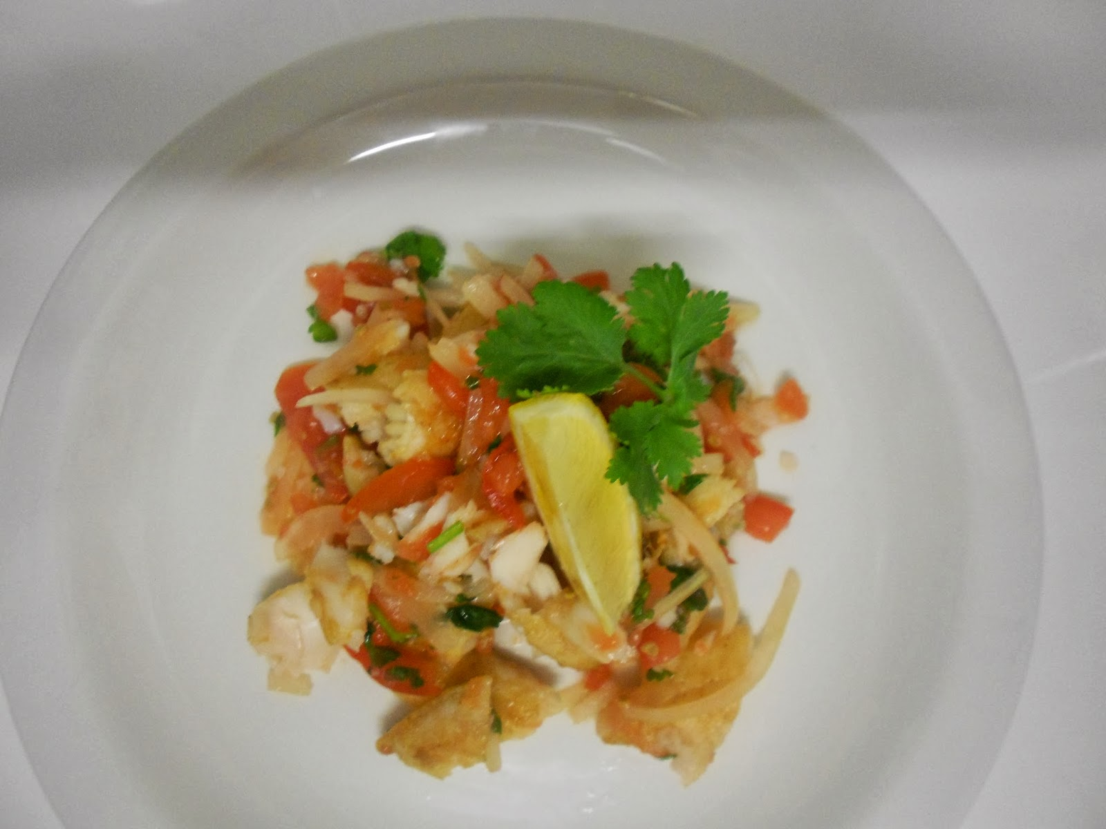 Mauritian modern delish and recipe mauritian fish salad for Fish salad recipes