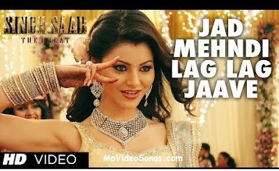 Jab Mehndi Lag Lag Jaave (Singh Saab The Great) Video song