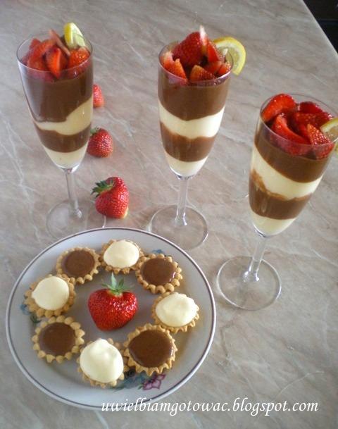 Szpajza cytrynowo-czekoladowa