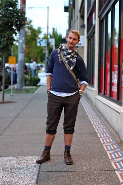 Seattle Street Style scarf