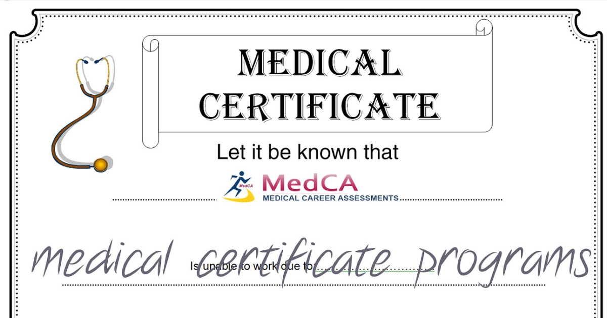 MedCa inc: What Are the Available Medical Certification Programs in NYC?