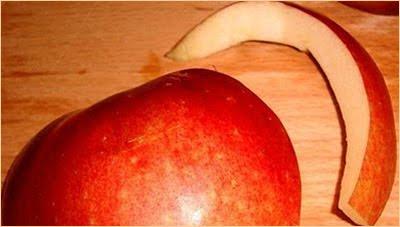 лебед от ябълка - шия