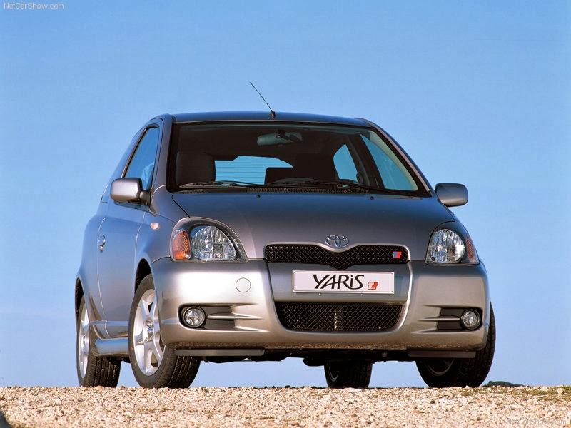 صور سياره تويوتا ياريس تي سبورت 2001