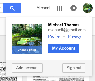 how to delete my old google account