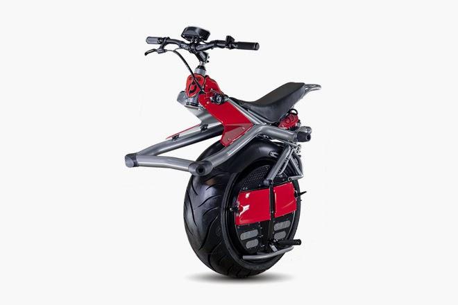 Monociclo con motor eléctrico: ¿subirías a uno?