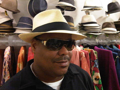 Hand woven Panama Hat from The Hat House NY 347-640-4048