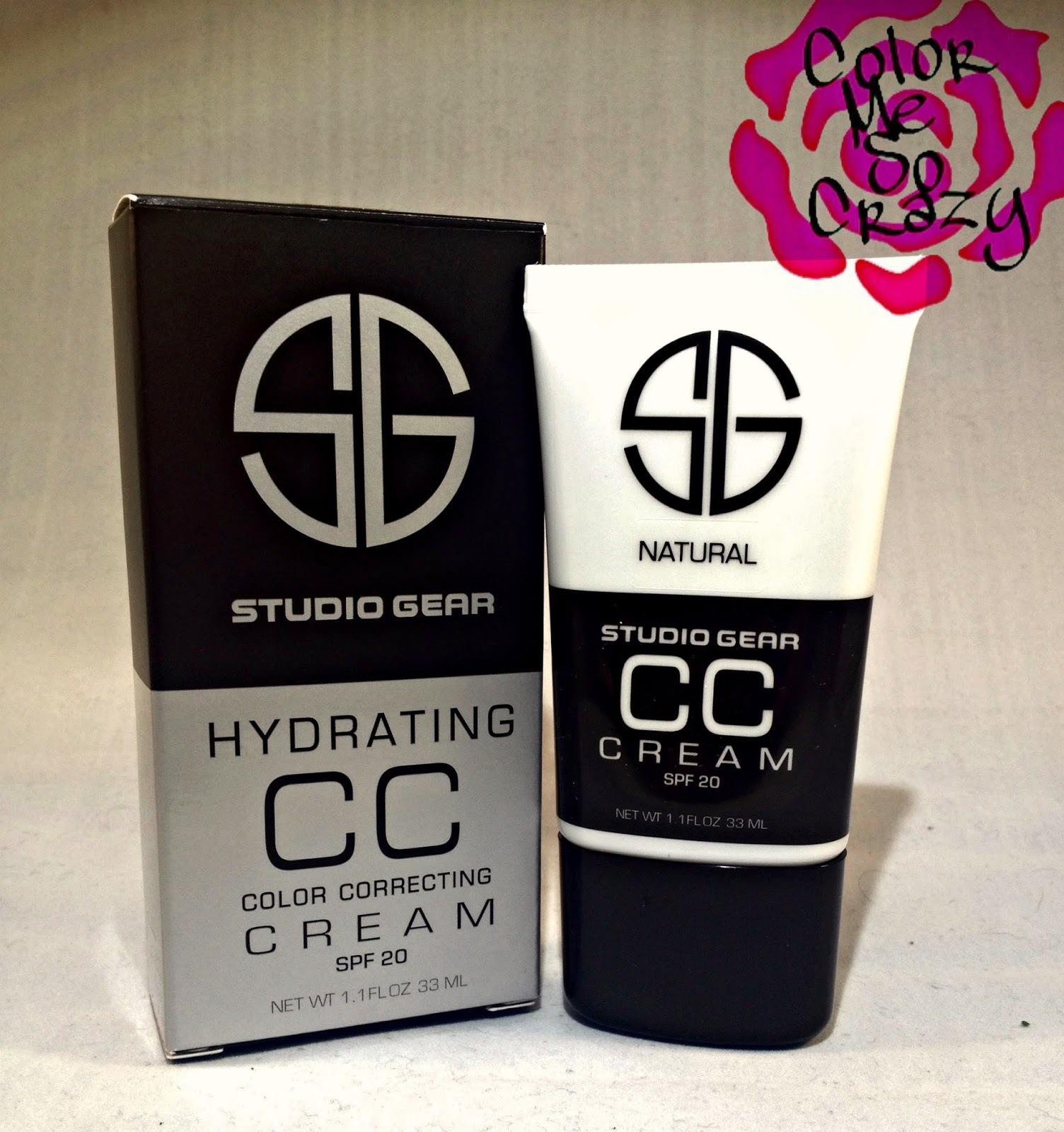 Introducing Studio Gear's Hydrating CC Cream AND A TREAT FOR YOU!!