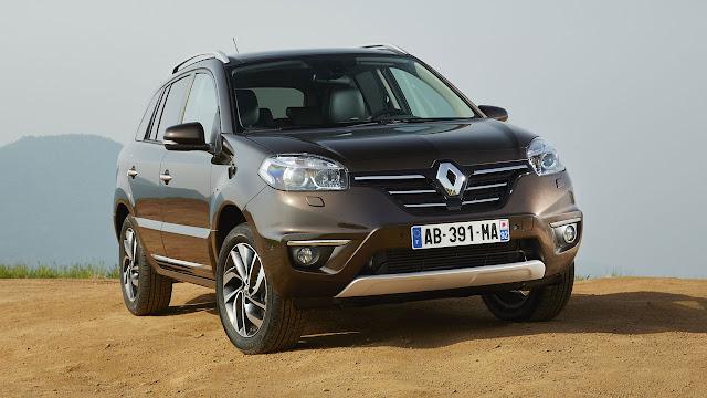 New Renault Koleos front