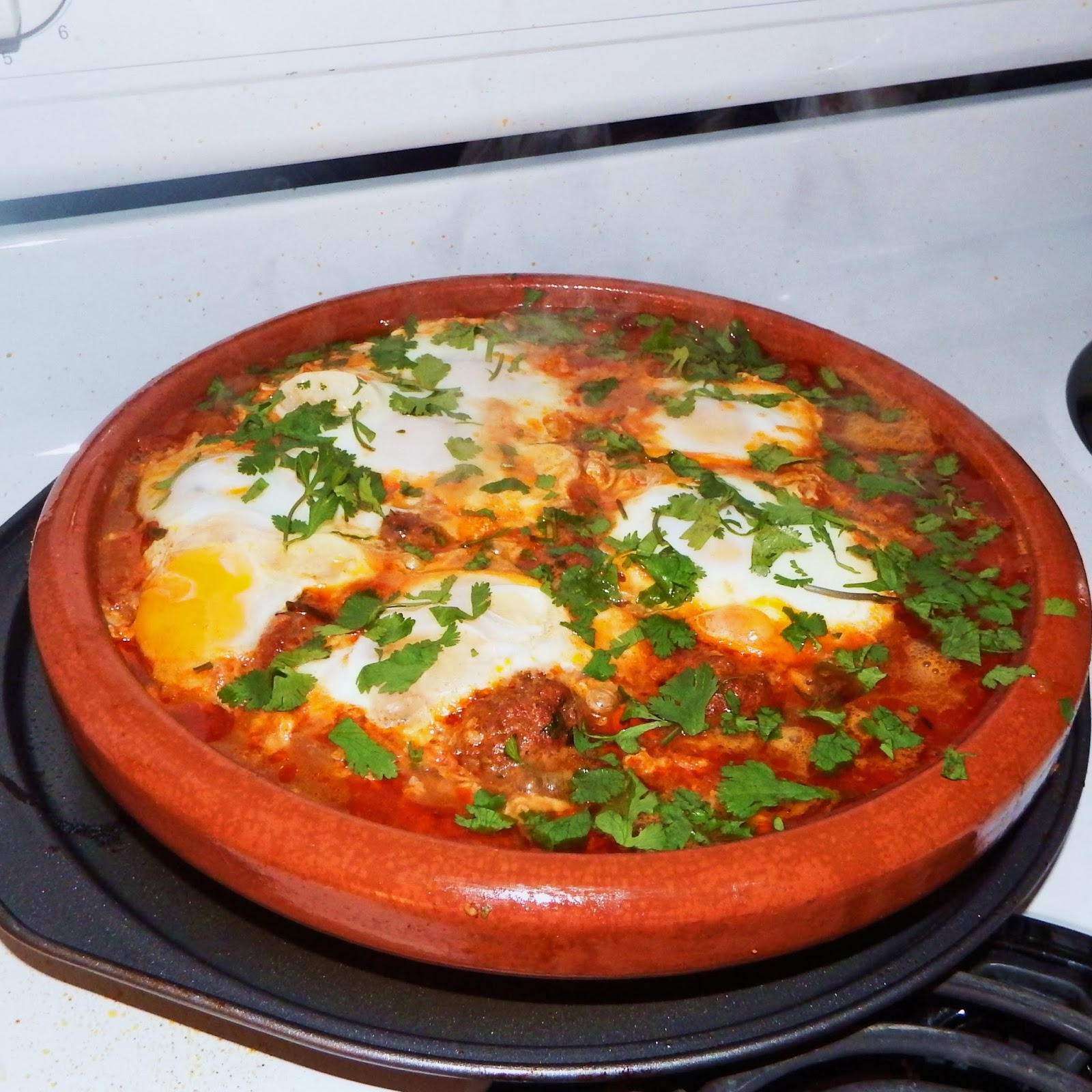 Merguez Meatball & Egg Tagine