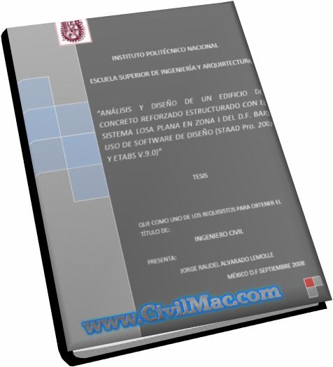 CivilMac , Tesis , Analisis y Diseño