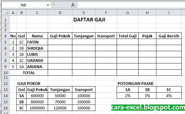 Vlookup Dan Hlookup Di Excel Tips Excel