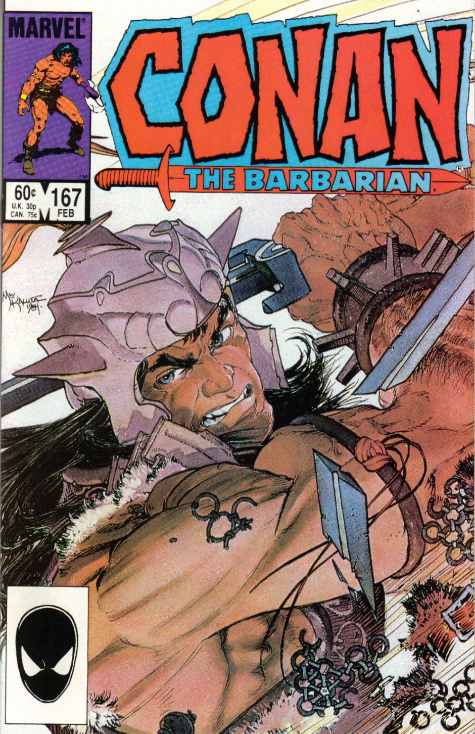 Conan the Barbarian (1970) Issue #167 #179 - English 1