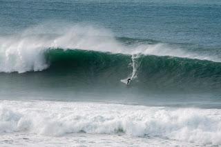 big waves Cornwall
