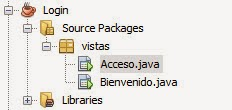 Estructura Proyecto Como Crear Un Formulario de Login en Java