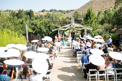 Reno Outdoor Wedding Ceremony at the River School Farm l Jeramie Lu Photography l Take the Cake Event Planning