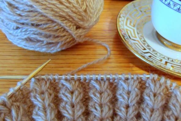 капуччино  вязание спицами рукоделие