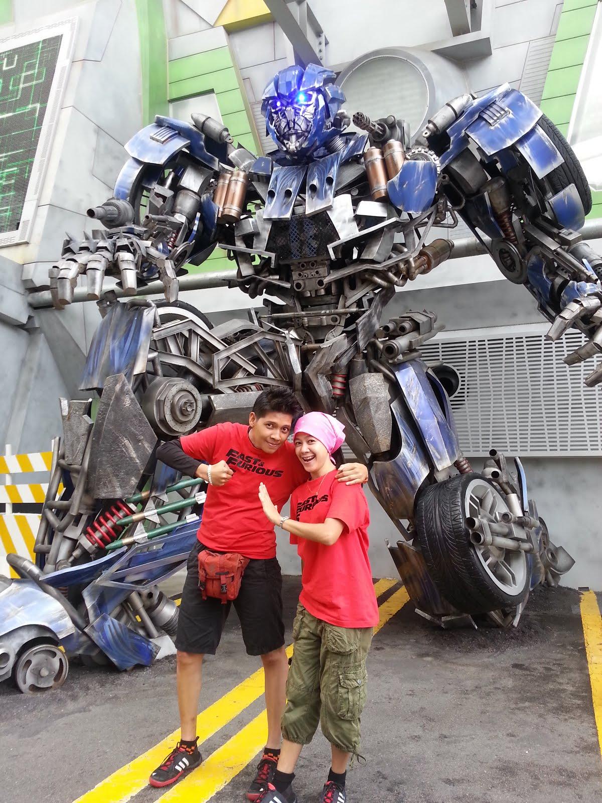 Universal Studio Singapore 2013
