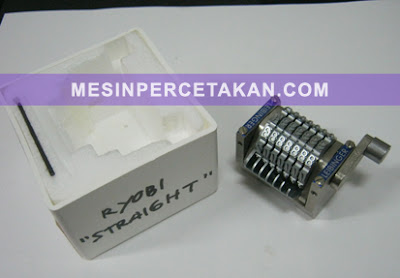Nomorator Spare Part | Mesin percetakan