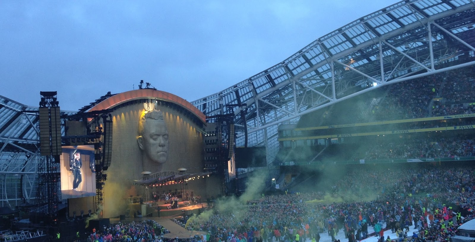 Image result for robbie williams aviva stadium