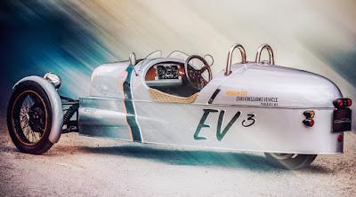 Morgan EV3 Prototype (2015) Rear Side
