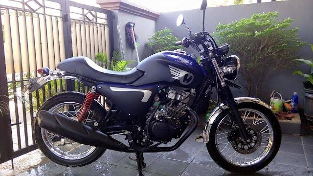 Foto Honda Verza di Rombak Jadi European Style Keren