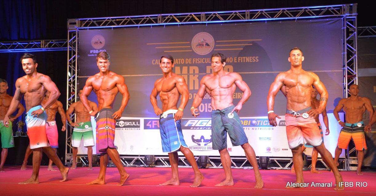 Ivo Toledo competiu na categoria Men's Physique até 1,74 m. Foto: Alencar Amaral