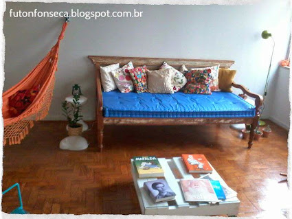 Futon Fonseca decorando novos ambientes