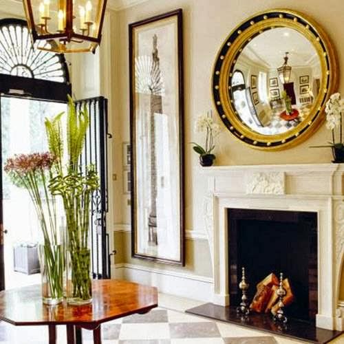 Decorar los ambientes y paredes con espejos dise o y - Paredes con espejos ...