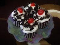 Resep Cupcake Blackforest Paling Unik