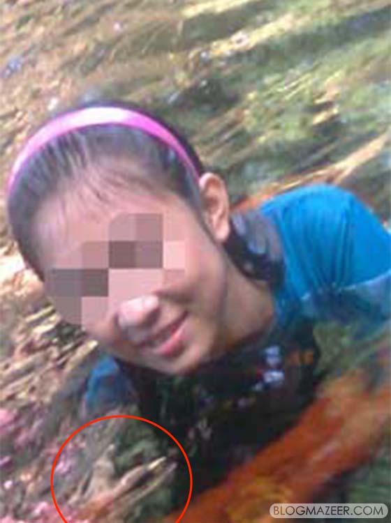 Gadis Pengsan Selepas Tangan Hantu Cuba Mencekiknya Ketika Mandi Sungai