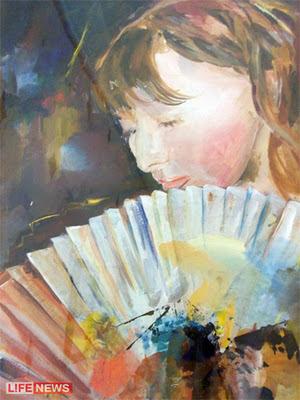 pintora con talento al extirpar cerebro