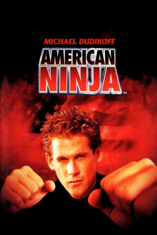 American Ninja 1985 DVD CUSTOM Mega