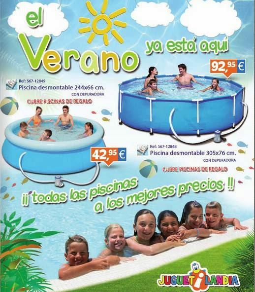 juguetilandia catalogo piscinas de verano 2014