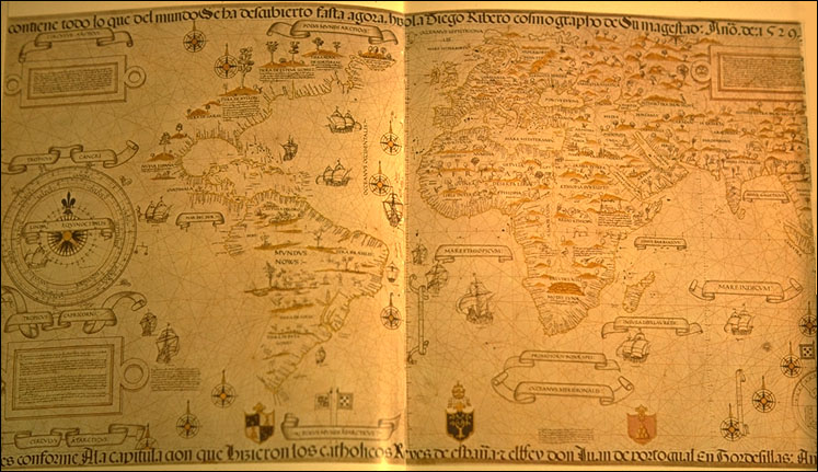 Ancient world maps world map 16th century his map is considered as the first scientific world map based on empiric latitude observations it delineates precisely the coasts of north gumiabroncs Images